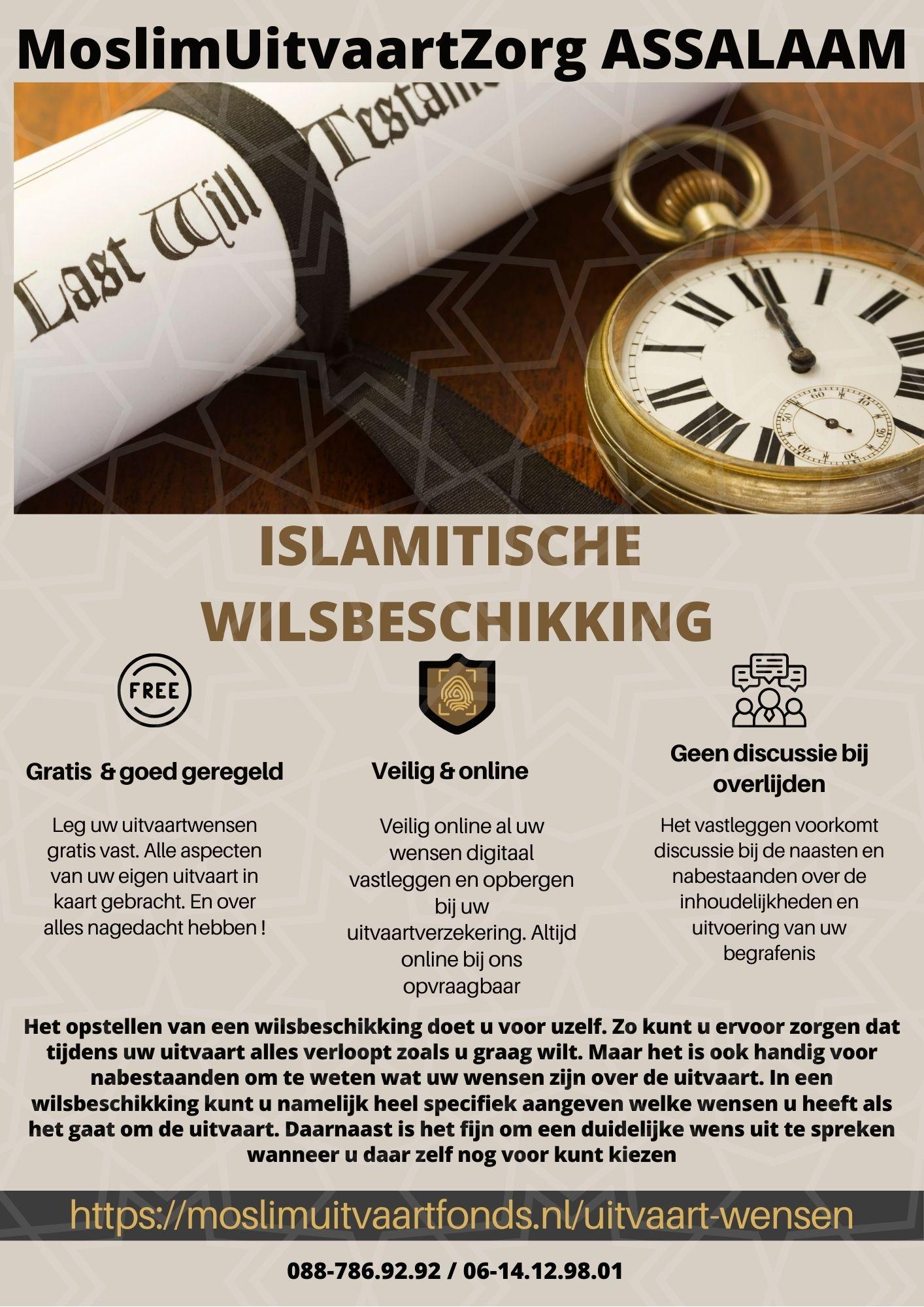 islamitische wilsbeschikking 01